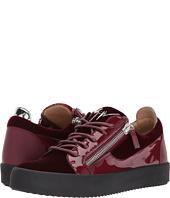 Giuseppe Zanotti - May London Low Top Velvet Sneaker