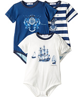 Dolce & Gabbana Kids - Capri Body 3-Pack One-Piece (Infant)