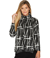 Jamie Sadock - Calligraphy Print Medium Weight Pullover Outerwear