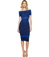 XOXO - Off Shoulder Spacedye Dress