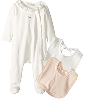 Chloe Kids - Gift Box - Essential Long Sleeve Bodysuit w/ 2 Bibs (Infant)