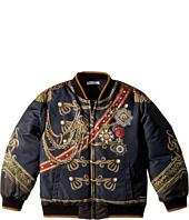 Dolce & Gabbana Kids - Heraldic Bomber Jacket (Toddler/Little Kids)