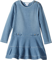 Chloe Kids - Soft Denim Dress (Little Kids/Big Kids)