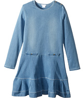 Chloe Kids - Soft Denim Dress (Big Kids)