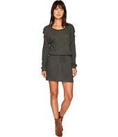 Lanston - Drop Shoulder Cut Out Mini Dress