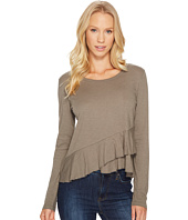 Lanston - Wrap Ruffle Long Sleeve