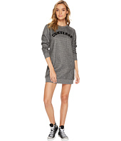 Converse - Long Sleeve Sweatshirt Dress