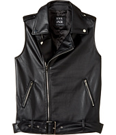eve jnr - Vegan Leather Vest (Little Kids/Big Kids)