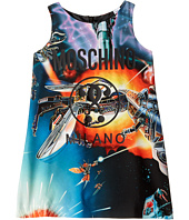 Moschino Kids - Sleeveless Transformers Dress w/ Logo on Front (Little Kids/Big Kids)