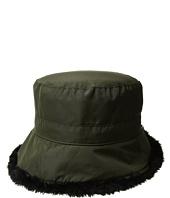SCALA - Packable Cloche w/ Faux Fur