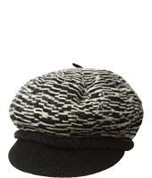 SCALA - Boiled Wool Two-Tone Newsboy