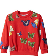 mini rodini - Butterflies Sweatshirt (Infant/Toddler/Little Kids/Big Kids)