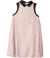 Lanvin Kids - Sleeveless Lace Dress with Contrast Trim (Big Kids)