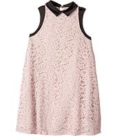 Lanvin Kids - Sleeveless Lace Dress with Contrast Trim (Big Kids)