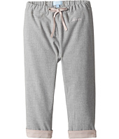 Lanvin Kids - Pants with Contrast Cuff & Logo Detail (Infant)