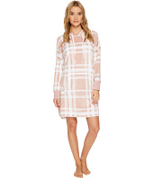 DKNY - Plush Hooded Sleepshirt