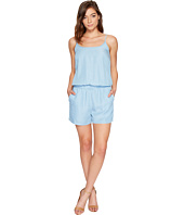 Splendid - Chambray Sleeveless Romper