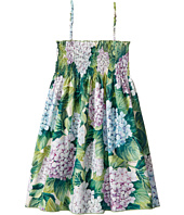 Dolce & Gabbana Kids - Taormina Ortensia Print Dress (Big Kids)