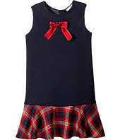 Dolce & Gabbana Kids - Back to School Plaid Dress (Toddler/Little Kids)