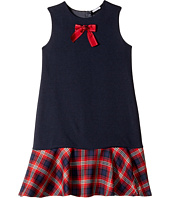 Dolce & Gabbana Kids - Back to School Plaid Dress (Big Kids)