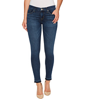 Hudson - Krista Crop Super Skinny w/ Released Hem in Dream On