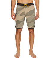 VISSLA - Bordertown Four-Way Stretch Heathered Boardshorts 18.5