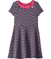 Us Angels - Zigzag Pattern Knit Dress (Big Kids)