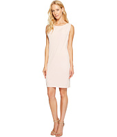 Jessica Simpson - Sleeveless Ity Dress with Front Drape