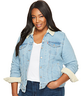 Levi's® Plus - Sherpa Trucker Jacket