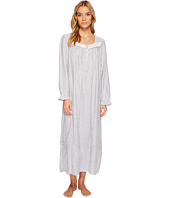 Eileen West - Flannel Ballet Long Sleeve Nightgown