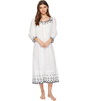 Eileen West - Embroidered Lawn Ballet Long Sleeve Nightgown
