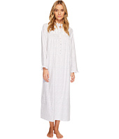 Eileen West - Flannel Ballet High-Neck Nightgown