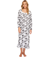 Eileen West - Toile Print Flannel Ballet Nightgown