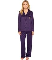 LAUREN Ralph Lauren - Satin Notch Collar Pajama