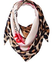 Kate Spade New York - Cheetah Face Silk Square
