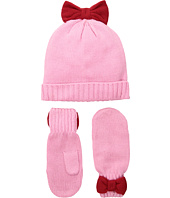 Kate Spade New York Kids - Bow Hat and Mittens Set