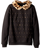 Kate Spade New York Kids - Faux Fur Trim Sweatshirt (Little Kids/Big Kids)