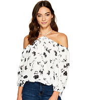 1.STATE - Long Sleeve High Neck Blouse