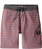 VISSLA Kids - Sofa Surfer Brooks Fleece Walkshorts (Big Kids)