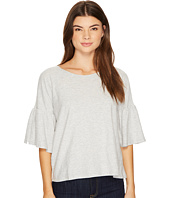TWO by Vince Camuto - Relaxed Bell Sleeve Cotton Slub Tee