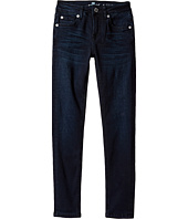 7 For All Mankind Kids - Denim Jeans in Blue Black River (Little Kids)