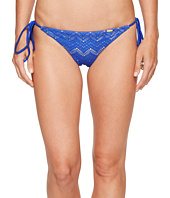 Luli Fama - Tropical Princess Brazilian Ruched Back Tieside Bottom
