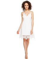 Laundry by Shelli Segal - A-Line Dress w/ Lace Trim