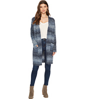 Tribal - Space Dye Boucle Long Sweater Cardigan