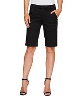 Ivanka Trump - Stretch Cotton Bermuda Shorts in Black