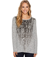 Tribal - Long Sleeve Printed Top