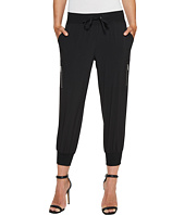 Ivanka Trump - Zipper Nylon Singed Ankle Pants