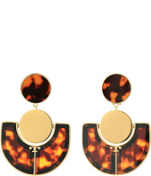 Tory Burch - Art Deco Statement Earrings