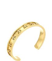 Tory Burch - Raised Logo Cuff Bracelet