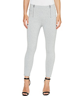 Ivanka Trump - Ponte Zipper Pants in Heather Grey